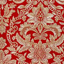 Carnelian Decorator Fabric by Scalamandre