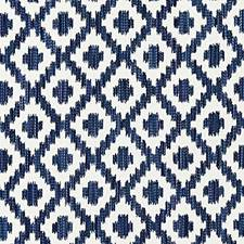 Indigo Decorator Fabric by Scalamandre