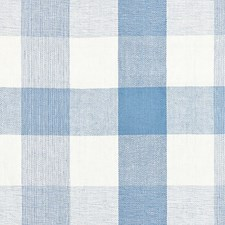 Sky CHATHAM STRIPES Decorator Fabric by Scalamandre