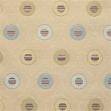 Beige/Light Blue/Light Green Modern Decorator Fabric by Kravet