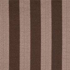 Pink/Brown Stripes Decorator Fabric by Kravet