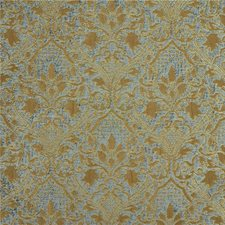 Aqua Damask Decorator Fabric by Kravet