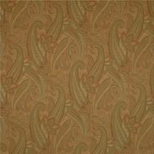 Green/Rust/Beige Paisley Decorator Fabric by Kravet