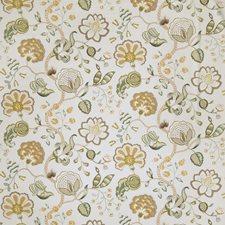 Sage Floral Decorator Fabric by Fabricut