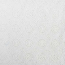 White Decorator Fabric by Highland Court