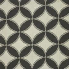 Beige/Black Novelty Decorator Fabric by Kravet