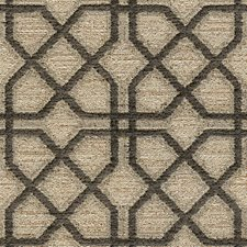 Beige/Grey Modern Decorator Fabric by Kravet
