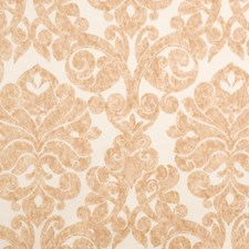 Gold Print Pattern Decorator Fabric by Fabricut