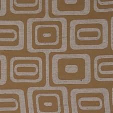 Ginger Geometric Decorator Fabric by Fabricut