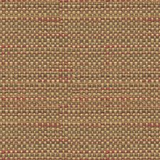 Yellow/Burgundy/Red Solids Decorator Fabric by Kravet