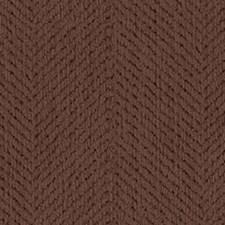 Chocolate Herringbone Decorator Fabric by Kravet
