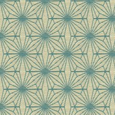 White/Blue Small Scales Decorator Fabric by Kravet