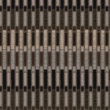 Brown/Black/Grey Modern Decorator Fabric by Kravet