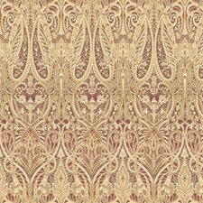 Purple/Beige Paisley Decorator Fabric by Kravet