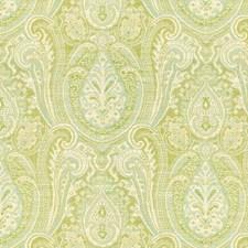 Beige/Green/Light Blue Ethnic Decorator Fabric by Kravet