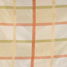 Coral Garden Check Decorator Fabric by Fabricut