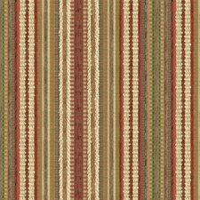 Beige/Orange/Green Stripes Decorator Fabric by Kravet