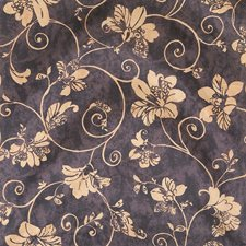 Raven Floral Decorator Fabric by Fabricut