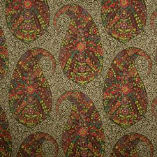 Enamels Paisley Decorator Fabric by Fabricut