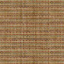 Yellow/Burgundy/Red Stripes Decorator Fabric by Kravet