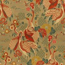Haute Red Animal Decorator Fabric by Kravet