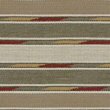 Sage Stripes Decorator Fabric by Kravet