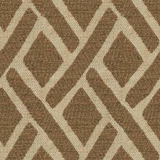 Umber Diamond Decorator Fabric by Kravet