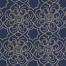Indigo Decorator Fabric by Duralee