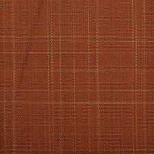 Terracotta Plaid Decorator Fabric by Duralee