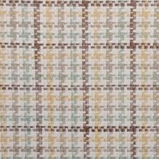 Natural/Green Basketweave Decorator Fabric by Duralee