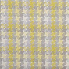 Chartreuse Geometric Decorator Fabric by Duralee