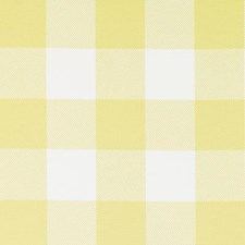 Yellow Plaid Decorator Fabric by Duralee
