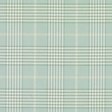 Seaglass Plaid Decorator Fabric by Duralee
