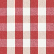 Cherry Plaid Decorator Fabric by Duralee