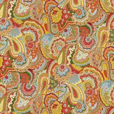 Primary Paisley Decorator Fabric by Kravet