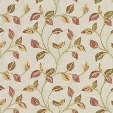 Red/Green Embroidery Decorator Fabric by Duralee