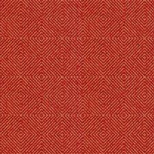 Burgundy/Red Diamond Decorator Fabric by Kravet