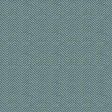 Beige/Dark Blue Herringbone Decorator Fabric by Kravet