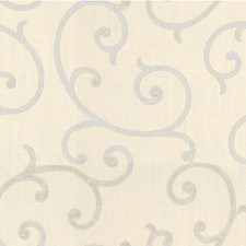 White/Ivory Lattice Decorator Fabric by Kravet
