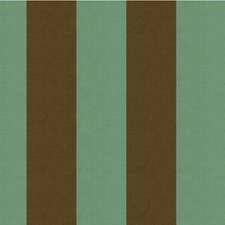 Spa/Chocolate Stripes Decorator Fabric by Kravet