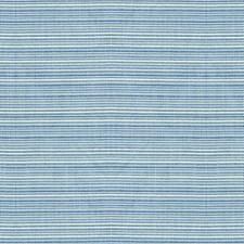 White/Light Blue Ottoman Decorator Fabric by Kravet