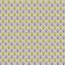 Lavender/Chartreuse/Ivory Small Scales Decorator Fabric by Kravet