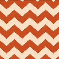 Tangerine Bargellos Decorator Fabric by Kravet