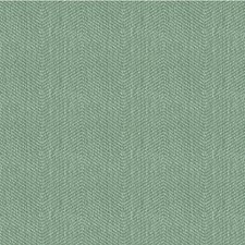 Teal/Light Blue Herringbone Decorator Fabric by Kravet
