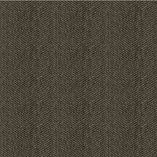 Charcoal/Black/Grey Herringbone Decorator Fabric by Kravet