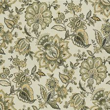 Ivory/Grey/Sage Jacobeans Decorator Fabric by Kravet