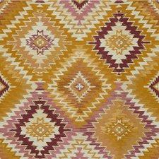 Gold/Pink/Orange Global Decorator Fabric by Kravet