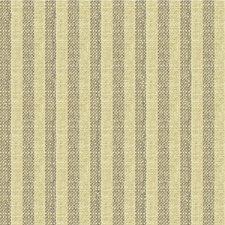 Grey/Beige Stripes Decorator Fabric by Kravet