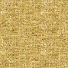 Gold/Yellow/Ivory Herringbone Decorator Fabric by Kravet