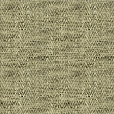 Grey/Beige Herringbone Decorator Fabric by Kravet